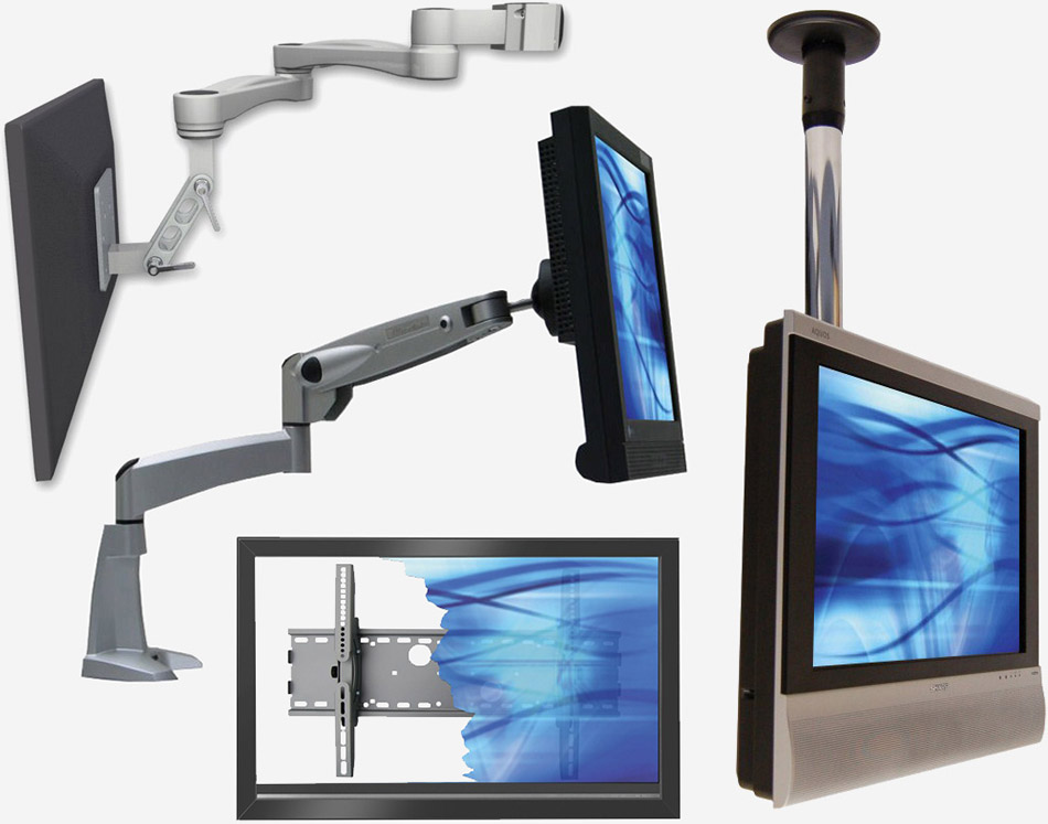Nemacom Display Mounting Solutions Ergomounts