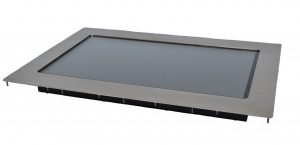 Stainless Steel Touchscreen Display Nemacom